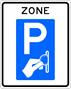 Parkeren - Bord betaald parkeren