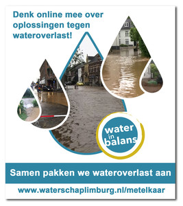 Wateroverlast - Online meedenken over oplossingen